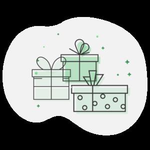 Illustration cadeaux