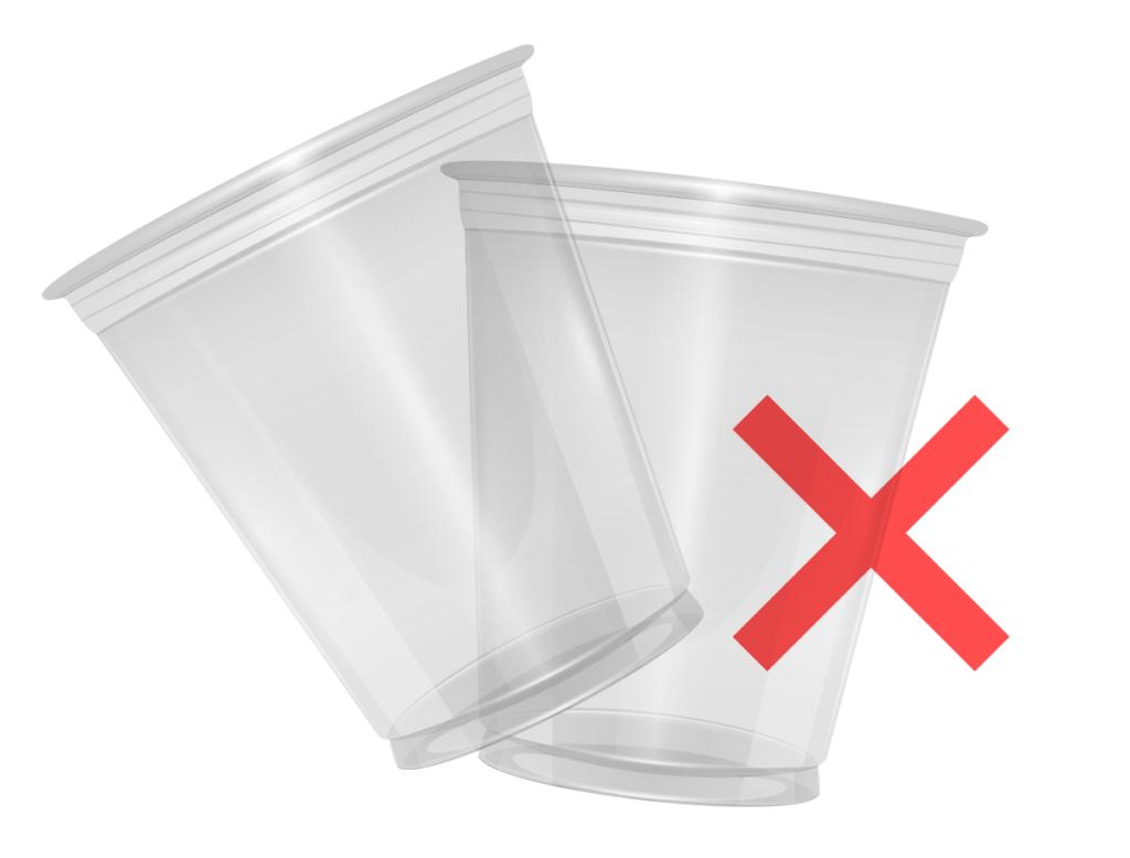 interdiction des gobelets plastiques